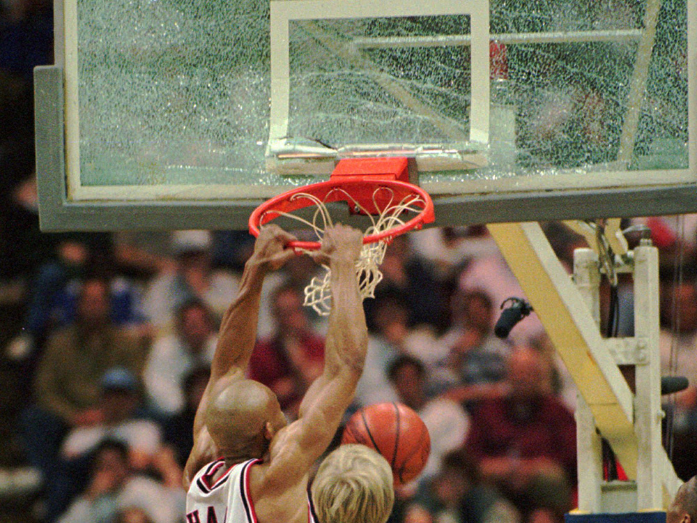 10 Craziest Backboard Shattering Dunks Of All Time