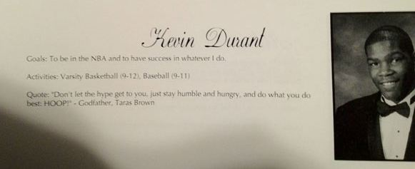 High School Senior Sports Quotes: Top 10 High School Yearbook Pictures Of NBA Players