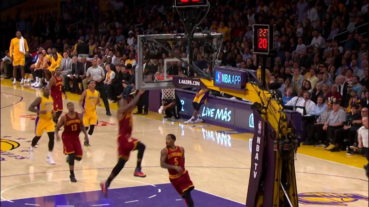 LeBron Dunks on the Lakers | Boosh Sports | Buzzworthy ...