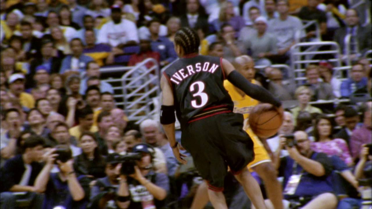 Allen Iverson vs Los Angeles Lakers: 2001 NBA Finals Game 1 Full Highlights - 48 points & 6 ...