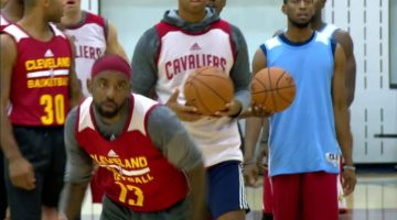 Kyrie Irving Highlights at Cavaliers 2017 Training Camp