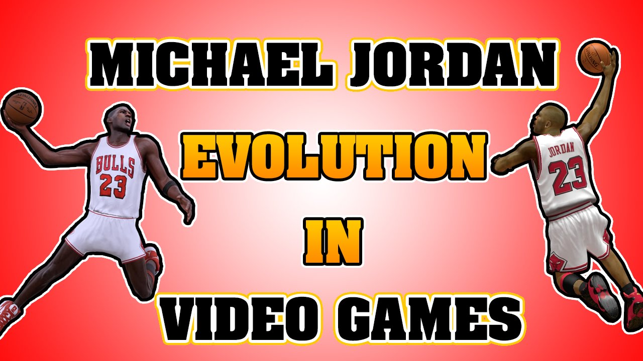 reputable site fd852 70481 MICHAEL JORDAN evolution in video games from 1988 to 2016   Boosh Sports    Buzzworthy Sports News