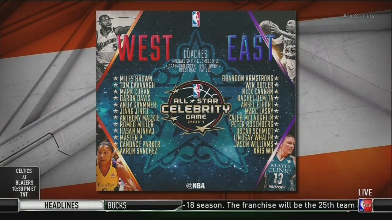 NBA All-Star Celebrity Game 2019 live stream: Time, TV ...