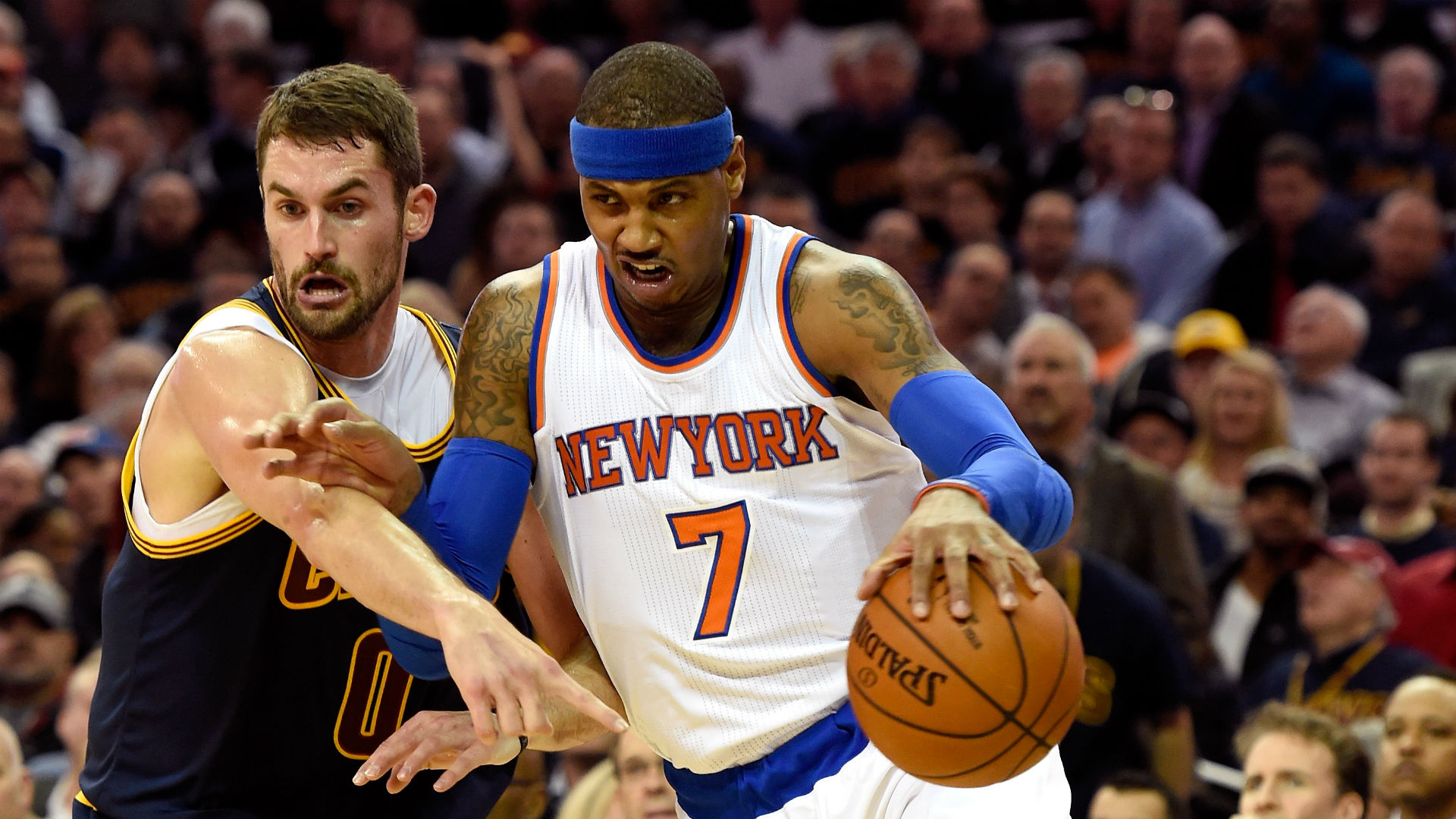 NBA trade rumors: Cavaliers want Carmelo Anthony   under one