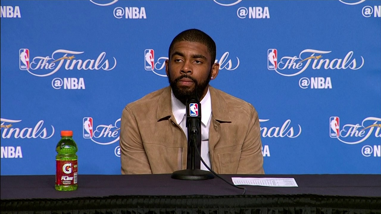 Kyrie Irving NBA Finals Game 4 Press Conference | Boosh Sports | Buzzworthy Sports News