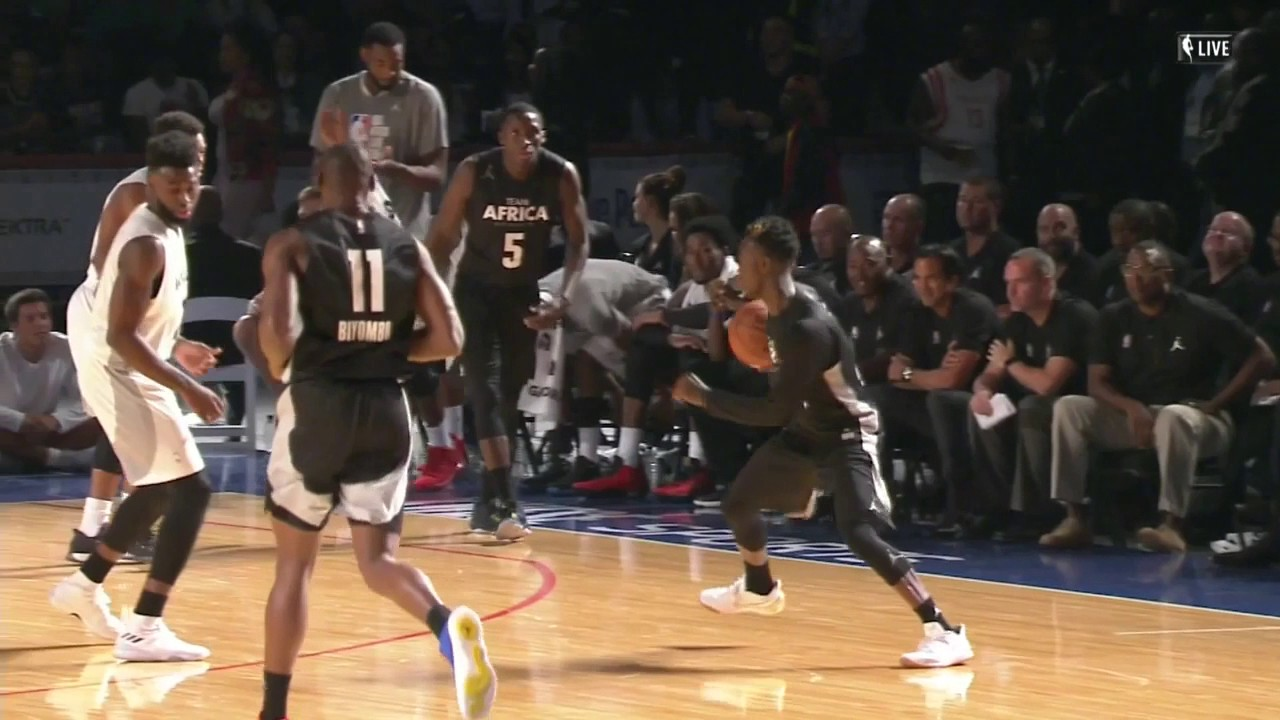Best of Team Africa From NBA Africa Game 2017 | Boosh Sports | Buzzworthy Sports News